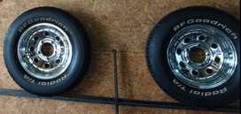 Juego de ruedas completas 15