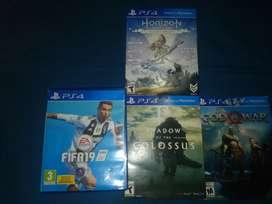 Venta video juegos play 4