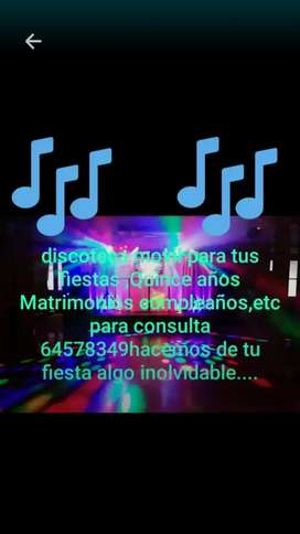 Disco movil fiestas privadas