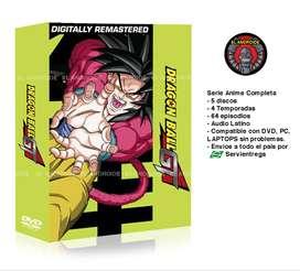 Dragon Ball Gt Serie Anime Completa