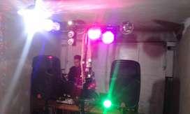 ALQUILER DE SONIDO  LUCES  KARAOKE  DJ
