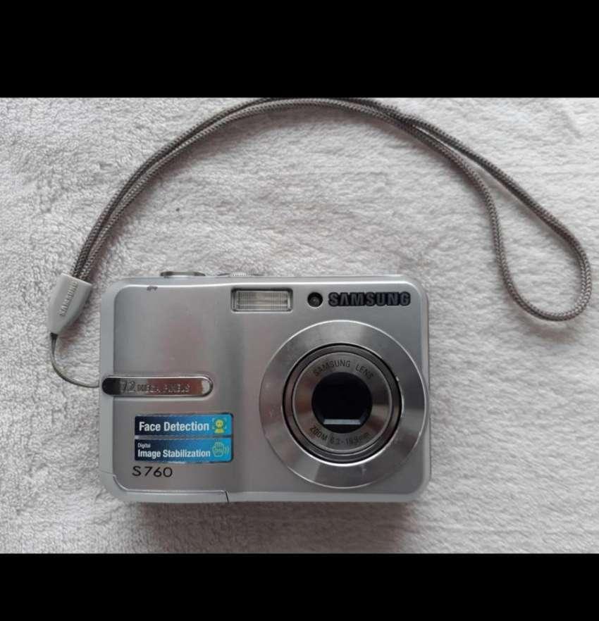 Cámara Samsung S760