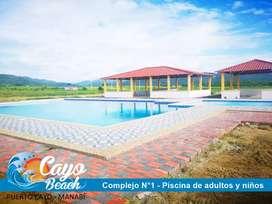 REMATE DE SOLARES EN LOTIZACIÓN CAYO BEACH, PLAYA DE MANABI A 1 HORA AL SUR DE MANTA, SOLO EFECTIVO, S1