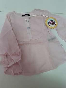 Camisa Beba Little Akiabara Nueva 9 Mese