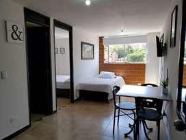 Apartamento amoblado  económico para la renta