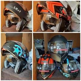 Casco para Moto cascos abatible  casco doble visor