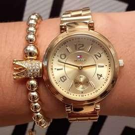 Reloj para mujer dorado