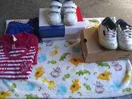 Zapatillas original Topper y adidas