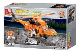 Lego alterno rescue helicopter helicóptero de rescate emergencia sluban city