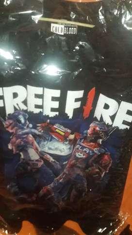 Polos reactivos freefire