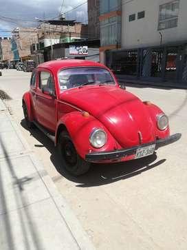 Vendo VW escarabajo 1982