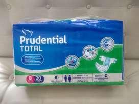Pañal para Adulto Prudential Total talla grande Large