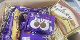Caja de Regalo de los amantes del chocolate
