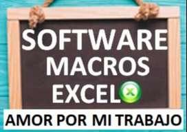 Programas en Excel.