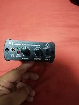 Monitor personal Beringer P1 en venta