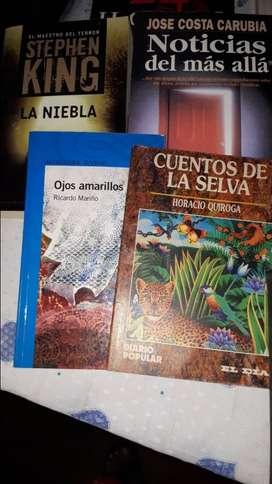 Vendo lote de 19 libros