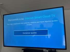 Televisor Exclusiv 50 Smartv con 6 meses de uso