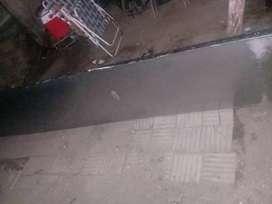 Vendo mesada de acero inoxidable de 4metro a 1500peso