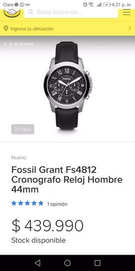 Reloj Fóssil original