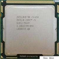 Procesador Intel Core i5 650. 3.20 GHz. PC Escritorio zócalo 1156