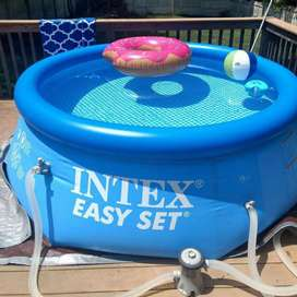 Venta de piscina inflable Intex