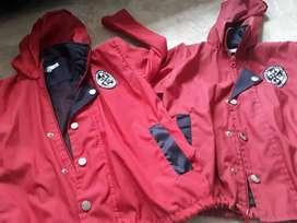 Chaquetas uniforme colegio Rosario Talla 4 y 8