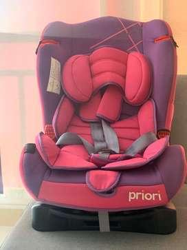 Silla de carro para niñas marca priori