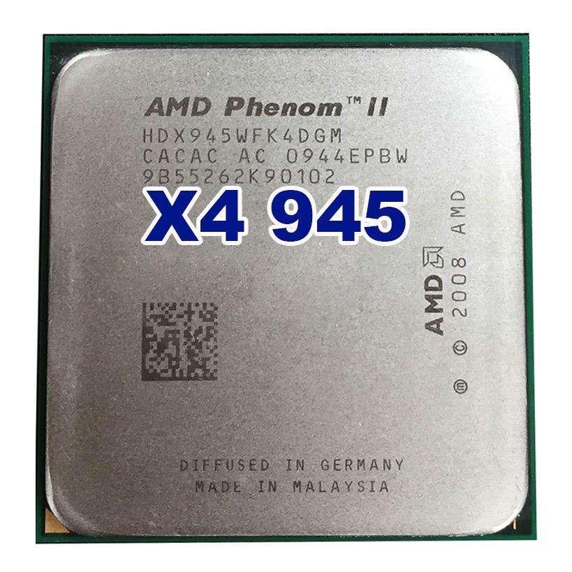 Procesador AMD Phenom II x4 945  3.0 Ghz. 95W