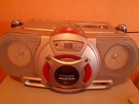 Radio Am Fm reproductor de cd y Casette