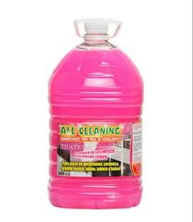 All Cleaning - Desmanchar y limpia toda clase de pisos