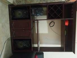 Multimueble + equipo de sonido por 150mil