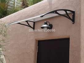 cubierta para ventanas y puertas de policarbonato