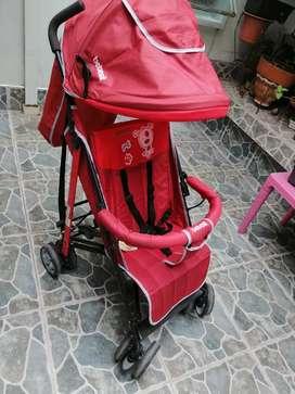 Paseador bebesit rojo