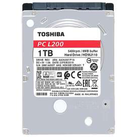 Disco Duro Portátil Toshiba L200 1TB