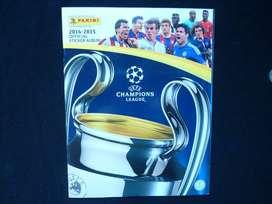 Álbum Panini Champions League 2014 - 2015 incompleto