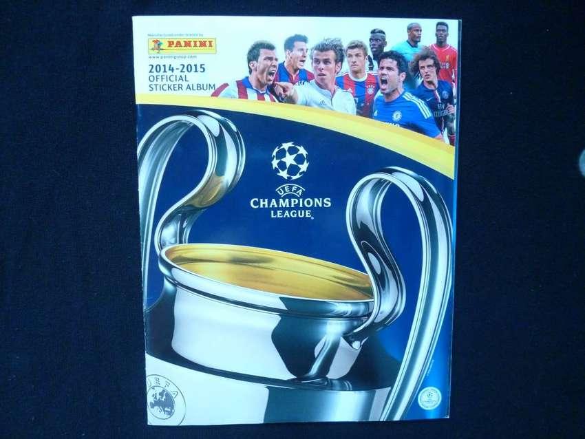 Álbum Panini Champions League 2014 - 2015 incompleto 0