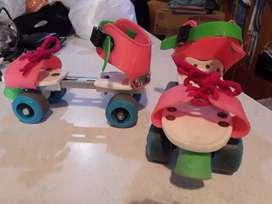 Patines 4 ruedas extensibles