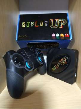 Mini consola retro multiplataforma REPLAY UP