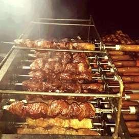 Asados de rodizio, carne a la llanera y tradicionales