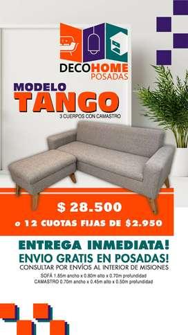 Sillón Modelo Tango 3 Cuerpos con Camastro