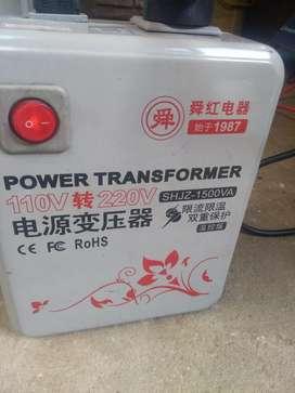 Transformador 110 V - 220 V 1500va