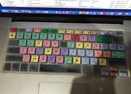 Logickeyboard Cubre teclado en silicona para Final Cut Pro  - MacBook Pro