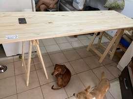 Mesa de caballetes