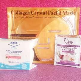 Productos para el cuidado capilar, corporal y facial. Mascarillas