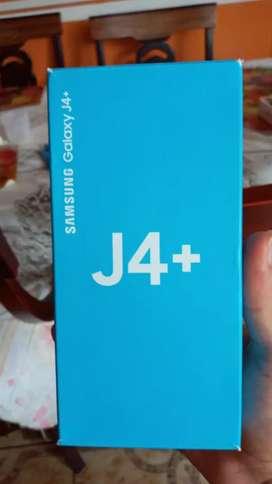 Galaxy J4+ en perfecto estado 10/10