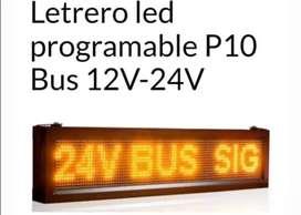 Letreros led programables