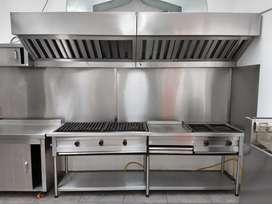 Vendo cocina industrial de segunda solo un mes de uso
