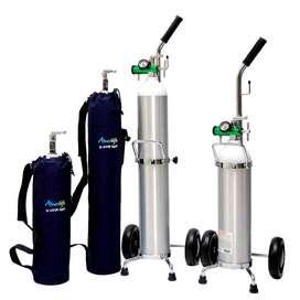 cilindro de oxigeno, con regulador,