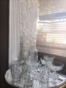 Licorera + copas