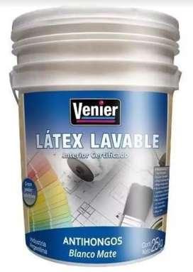 Pintura Latex Interior VENIER 25kg